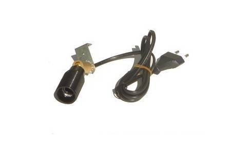 E14 lampholder with swivel joint and cable - Cod. ILSN50