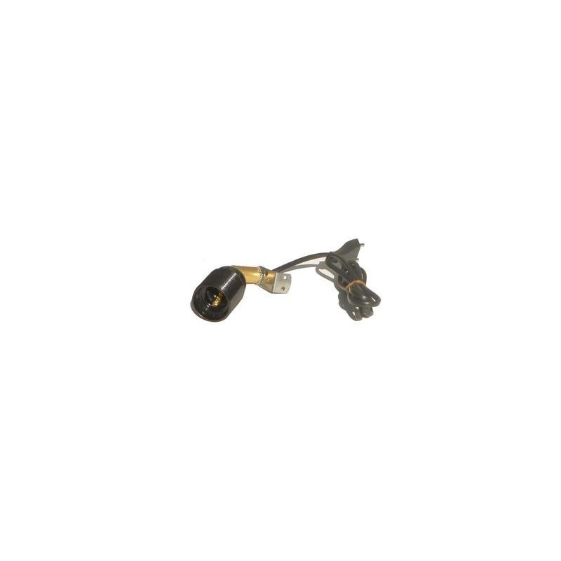 Mondo Presepi Portalampade E27 con snodo orientabile e cavo -