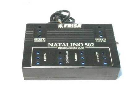 The control unit 502, Natalino crib - Art. N502