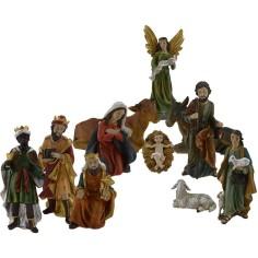 Mondo Presepi Natività cm 30 set 11 pezzi