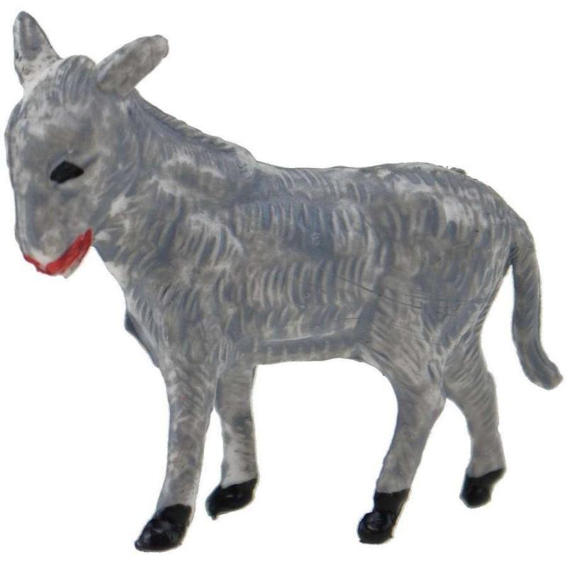 Mondo Presepi Asino per statue h. 3,5 cm - animali per presepe
