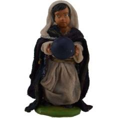 Bambino con palla per statue da 10 cm  - 1