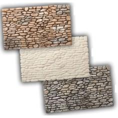 Rocks wall in resin 26.5x16 cm