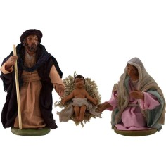 Nativity 10 cm set of 3 subjects