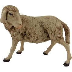 Pecora testa girata consigliata per statue 30 cm  - 1