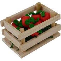 Mondo Presepi Cassetta con pomodori cm 4x2,5x2,4 h.