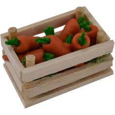 Cassetta con carote cm 4x2,5x2,4 h.  - 1