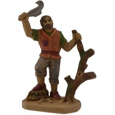 6 cm Woodcutter in pvc lux