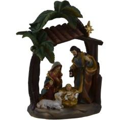 Nativity in resin 9,5x5,5x16 h.
