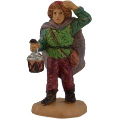 6 cm Man with a lantern pvc lux