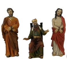 The judgment of Pilate 12 - 13 cm Paschal statues