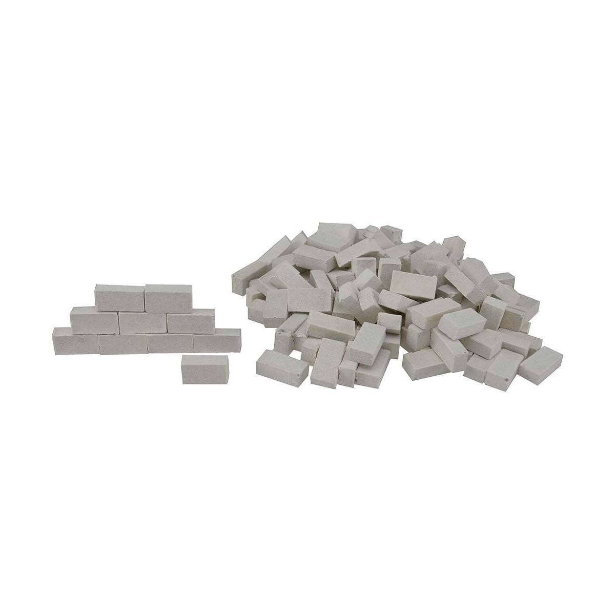 Mattoni Bianchi Per Esterni mattoncini bianchi effetto marmo mm 12x3x6 mondo
