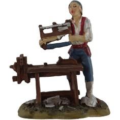 8 cm resin carpenter
