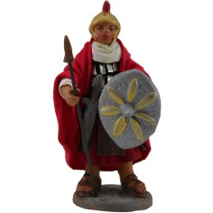 World Nativity scenes Soldier 10 cm with a spear and a shield