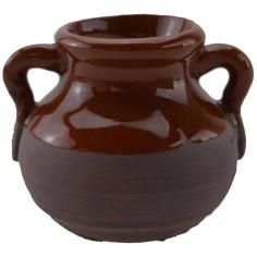 Antique terracotta amphora h. 4 cm
