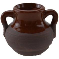 Antique terracotta amphora h. 3.3 cm