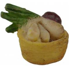 World Nativity Basket with vegetables Ø 2 cm