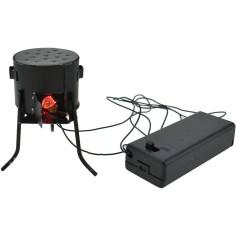 World Nativity Stove hearth led battery - Fire crib