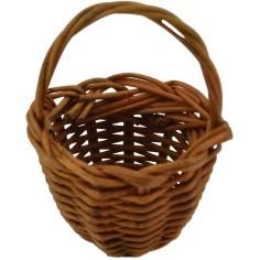 Lux wicker basket ø 3.5 cm