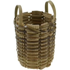 High basket with handles h. 4.5 cm
