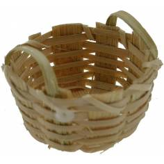 World Nativity Basket with handles 2.5 cm