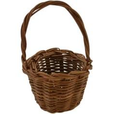 Lux wicker basket ø 4 cm