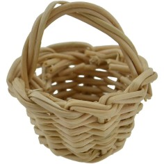 Basket ø 2,2 cm accessories for nativity scene