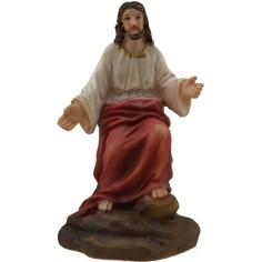 Cristo seduto serie 12 cm