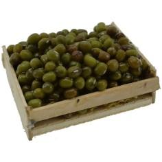 Mondo Presepi Cassetta con olive cm 5,5x4x2,5 h.
