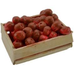 World Nativity Box with apples cm 5,5x4x2,5 h.