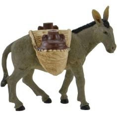 World Nativity Donkey with amphorae