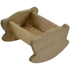 Wooden cradle 3.5X4 cm