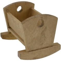 Wooden cradle 6x5 cm