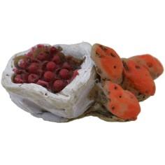 Mondo Presepi Sacco con frutta 2,5 cm