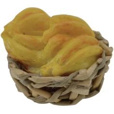 World Cribs wicker Basket ø 2.5 cm with bananas