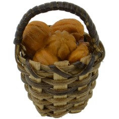 World Cribs wicker Basket ø 2.5 cm with melons