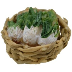 World Cribs wicker Basket ø 2.5 cm with celery