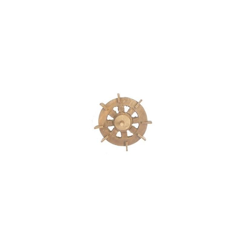 Mondo Presepi Ruota mulino in legno Ø 12cm