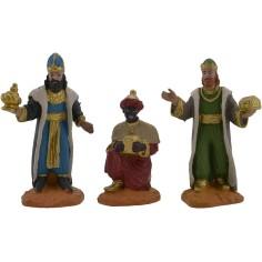 World Nativity Set 3 three Kings 8 cm Oliver