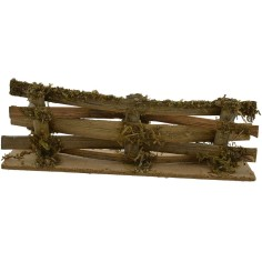 World Cribs picket Fence in wood 13,5x4 h.