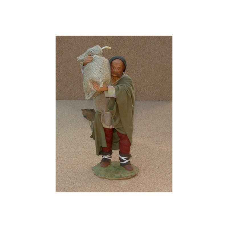 Lux shepherd with bags cm 24 -