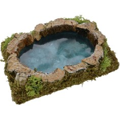 World Cribs Pond depth effect 13x9 cm