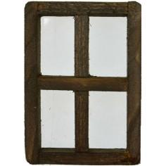 Finestra in legno cm 3x4,3 h.