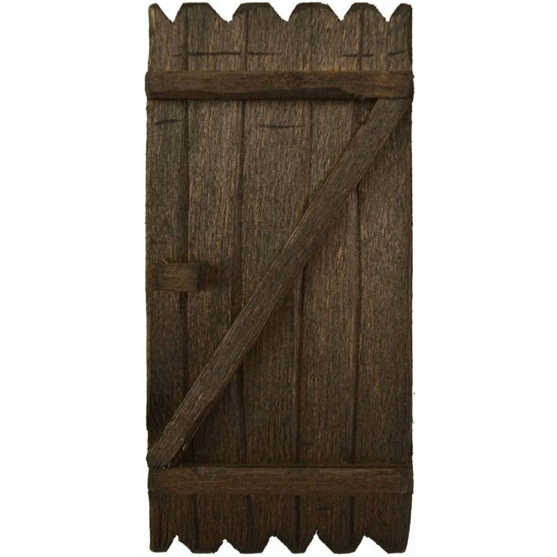 Portone in legno disponibile in varie misure: Mondo Presepi