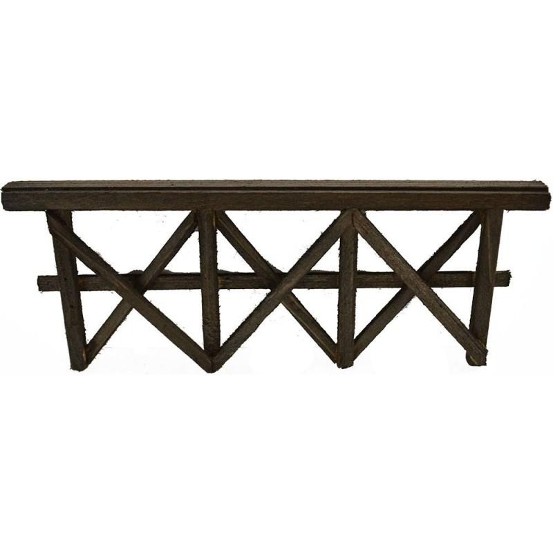 Staccionata in legno disponibile in varie misure: