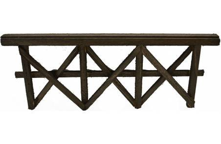 Wooden fence available in various sizes: