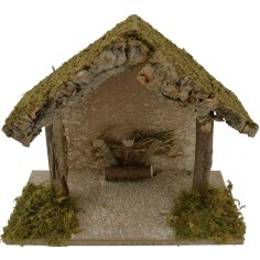 World Nativity Hut nativity cm 25x12x20