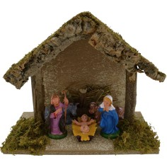 World Nativity manger with Nativity nativity cm 25x12x20