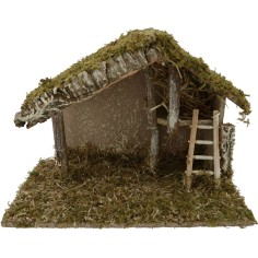 World Nativity Hut nativity cm 32x17x22