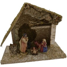 World Nativity Hut nativity with the Nativity cm 25x12x20